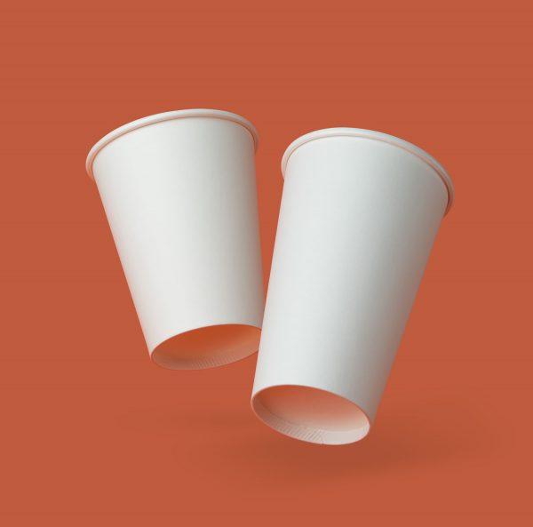PE coated single wall takeaway cup