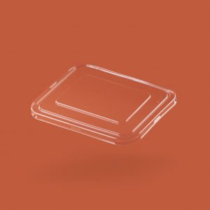 takeaway rectangular container lid