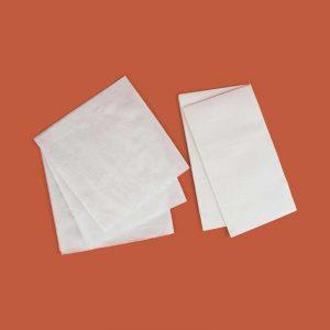 white tissue serviettes